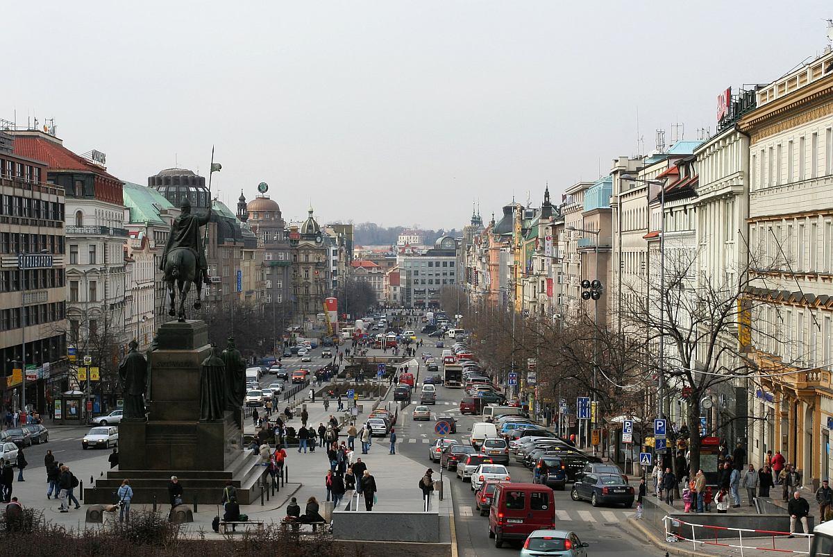 Der Wenzelsplatz