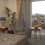 Zimmer Superior mit Balkon und Donaublick