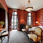 Grand Hotel Les Trois Rois Zimmer