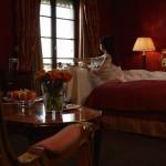 Junior Suite Rot Frau Trois Rois Hotel