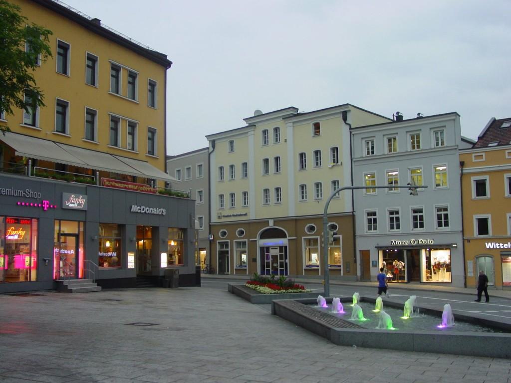 Passau Stadtzentrum 2011 Juni: 21:00 Uhr