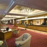Budapest Hilton Rezeption