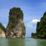 Bucht von Phang Nga nahe Phuket