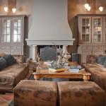 Hôtel Saint Amour La Tartane - Wohnzimmer