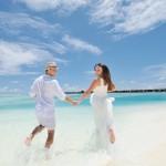 Maldiven Flitterwochen