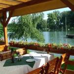 Restaurant im Sommer