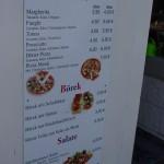 Pizza Börek Salate Preise