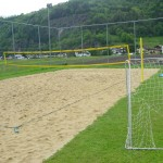 Strand-Volleyball - Natur Resort Hotel & Camping