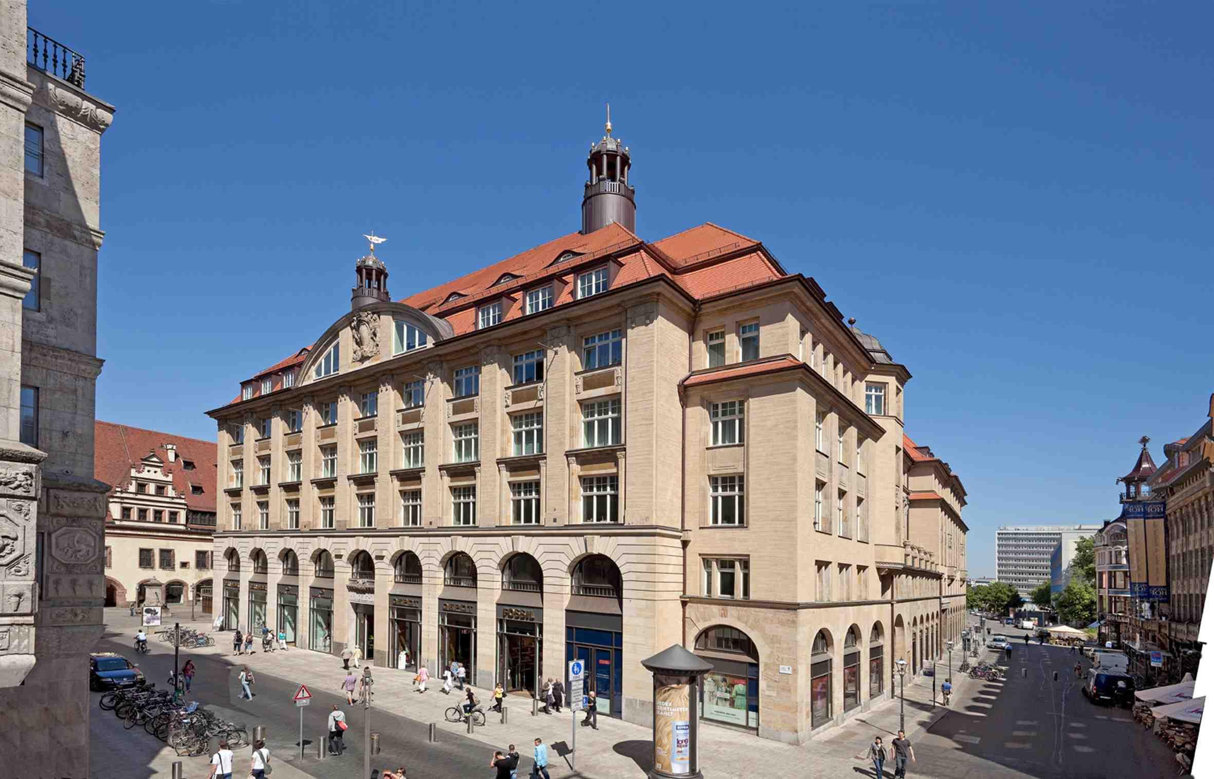 Leipzig hotelreservierung zimmer und apartment buchen for Designhotel leipzig