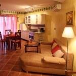 Apartments Oliveto - Wohnzimmer
