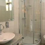 Hotel Am Deich - Badezimmer