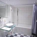 Hotel City Krone - Badezimmer