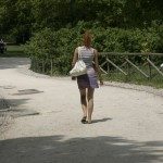 Mädchen in Milano