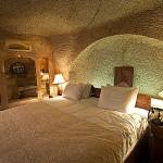 Museum Hotel Cappadocia Höhlen Zimmer