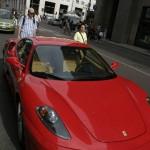 Rote Ferrari