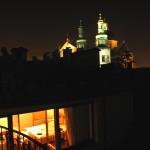 Abend Blick Terrasse