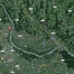 Aschach an der Donau - Linz - Karte