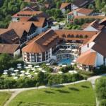 Hotel Fürstenhof Luftaufnahme