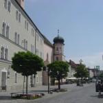 Straubing Stadtzentrum