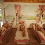 Appartment Hotel Preishof - Wärmeliegen in der Saunaoase
