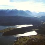 Kochel am See - Blick und Walchensee