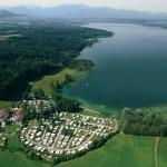 Camping Stein Simssee Luftbild