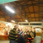 Christkindlmarkt am Bauernmarkt 08.12.2013 Innen