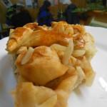 Christkindlmarkt am Bauernmarkt Apfelkuchen