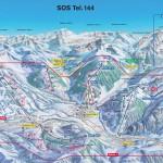 Gstaad Ski Pistenplan Karte