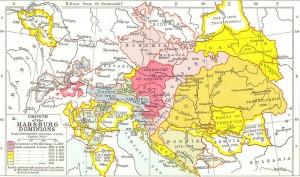 Habsburg Karte