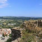 Jimena de la Frontera Burg Ausblick