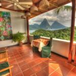 Anse Chastanet Resort - Terrasse