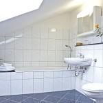 Hotel Rosenhof- Badezimmer