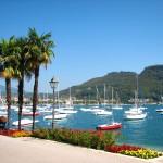 Hafen an der Seepromenade