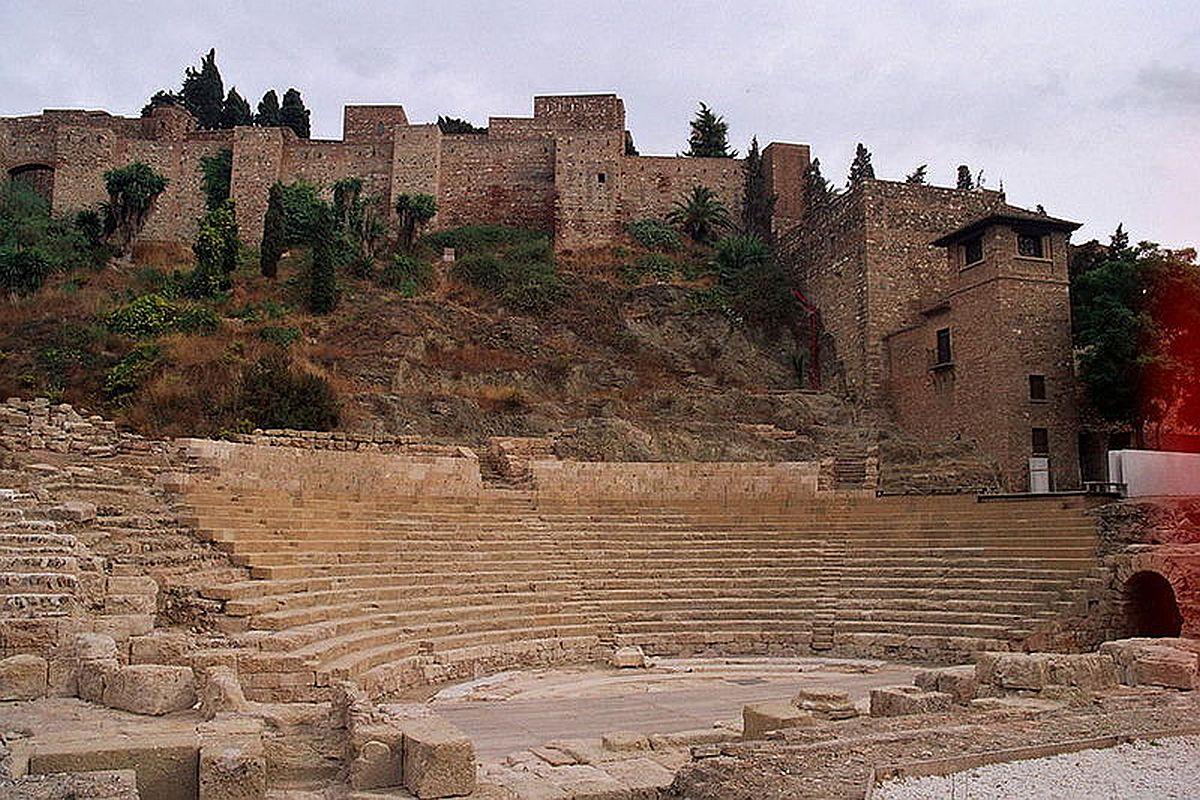 Malaga_Spain_Alcazaba_Teatro