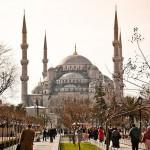 Sultan-Ahmed-Moschee mit Parkgelände